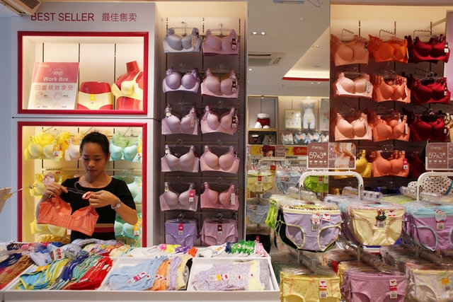 China's High end Lingerie Market turns valuable