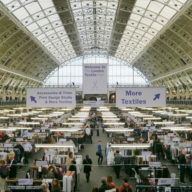 London Textile Fair ready to hit a new high this 2017