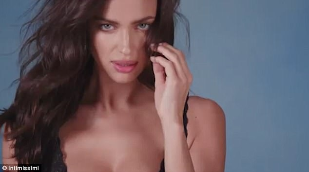 Irina Shayk Gets Romantic In Elenora By Intimissi