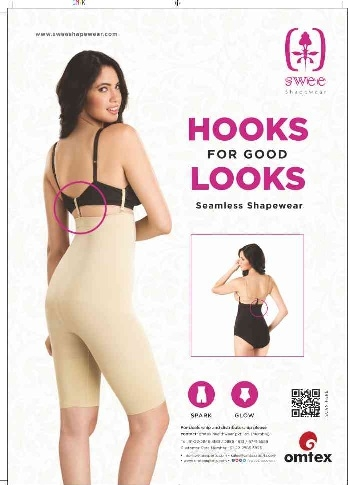 Hook your self with Swee shapewear – No Rolls, Bunches or slips!