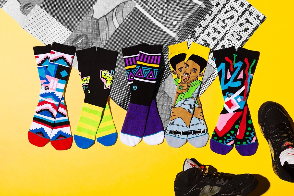 These Stance x Will Smith 'Fresh Prince' Socks Are Epic