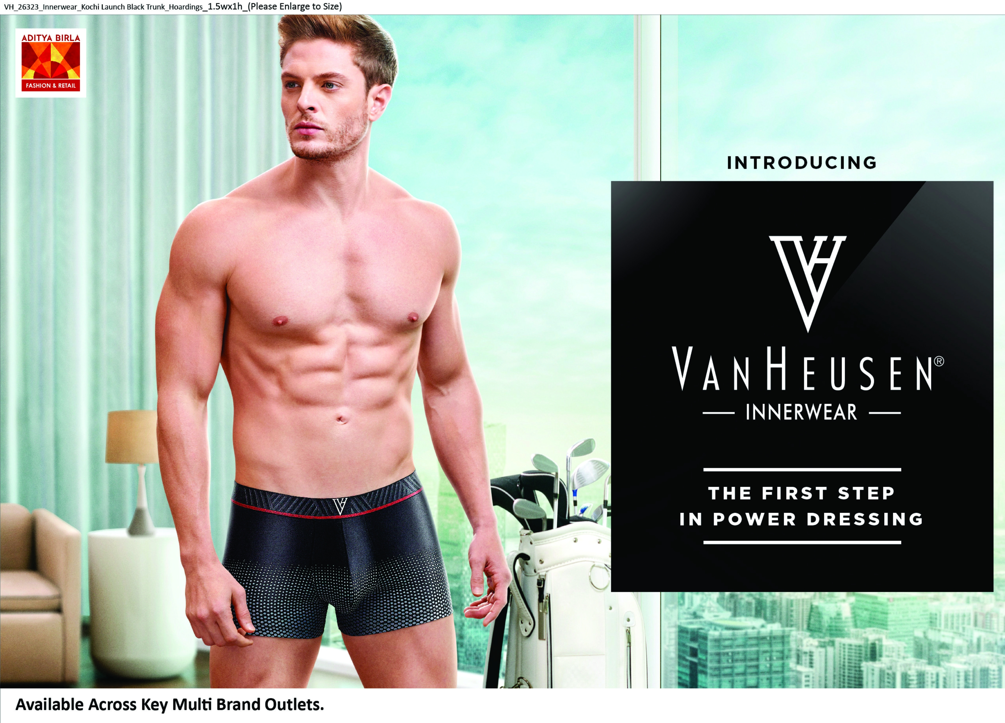 Crafted into fashion Van Heusen offers new lines!