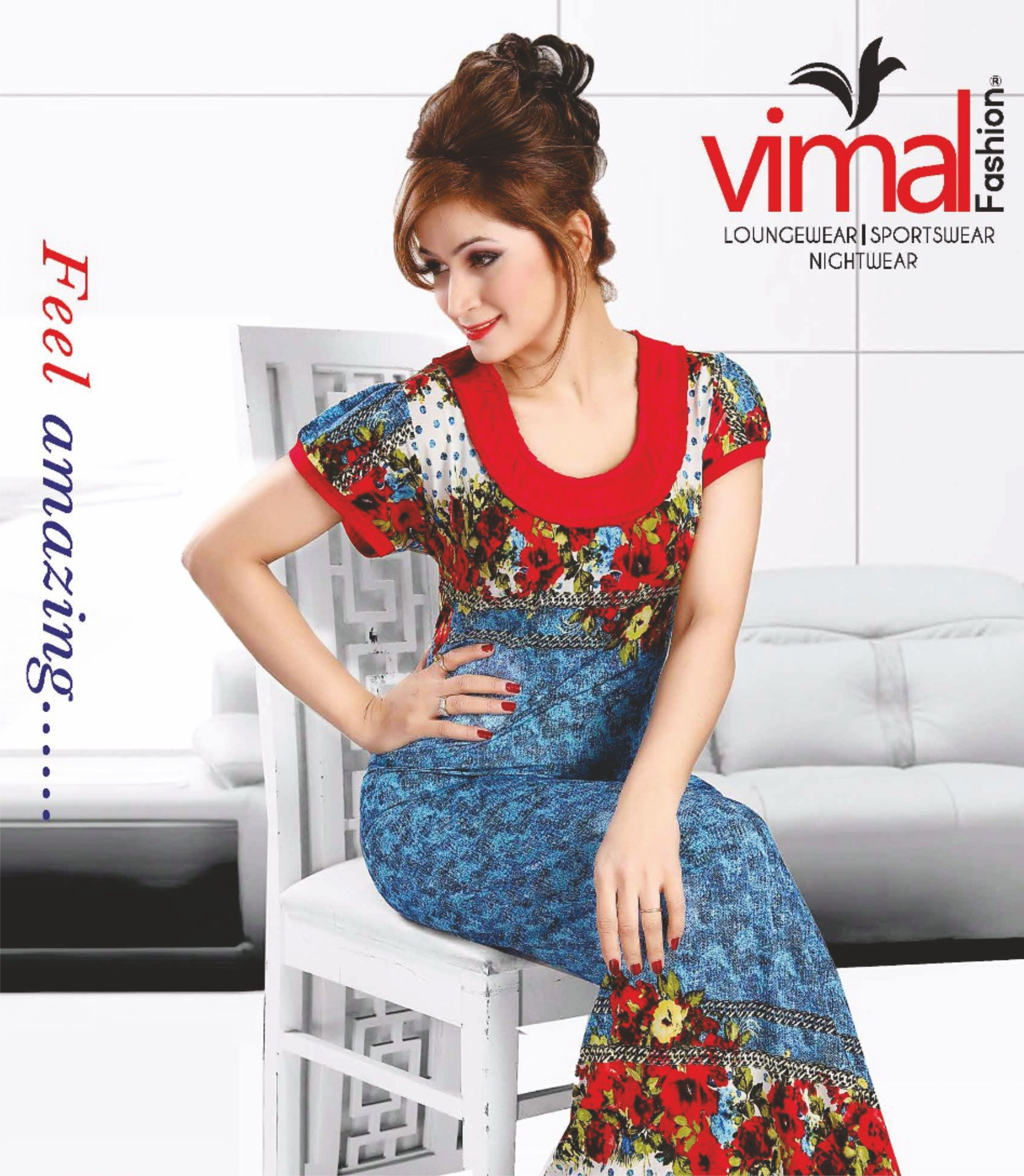 Dazzle your nights with vimal nightwear