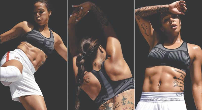 Nike unveils new Flyknit sports bra