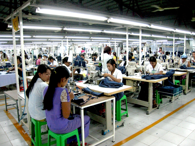 Foreign investment increases in Myanmar garment sector