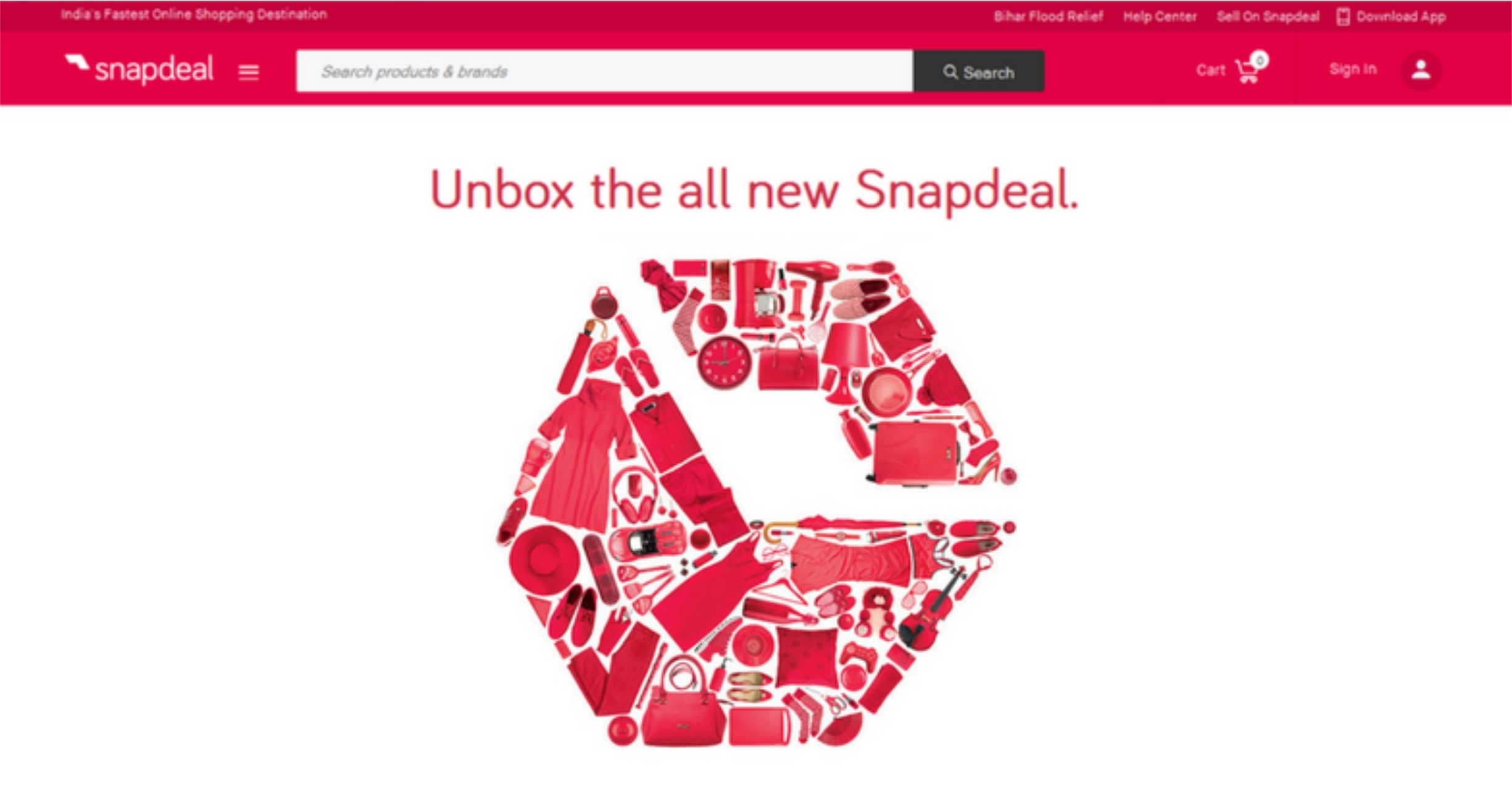 Snapdeal goes for a branding makeover to stay put in competition