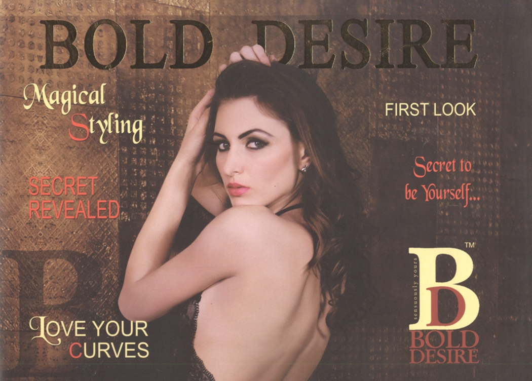Bold Desire 2016 catalogue, luxurious  and sexy