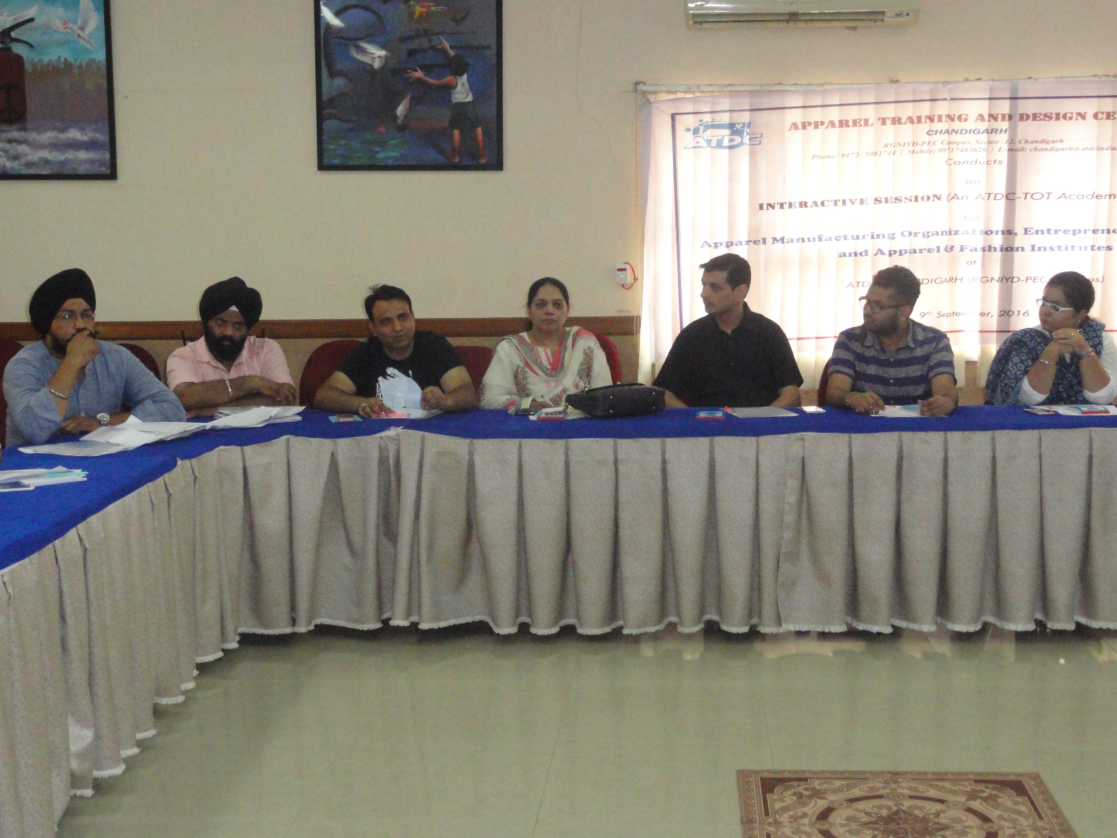 ATDC conducts an 'Interactive Session for Apparel Manufactures, Entrepreneurs & Fashion Institutes
