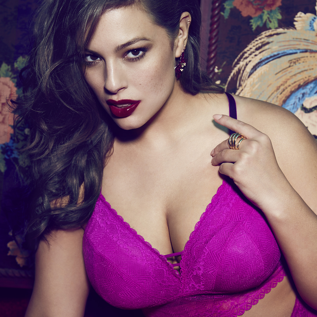Look posh With Ashley Graham lingerie collection