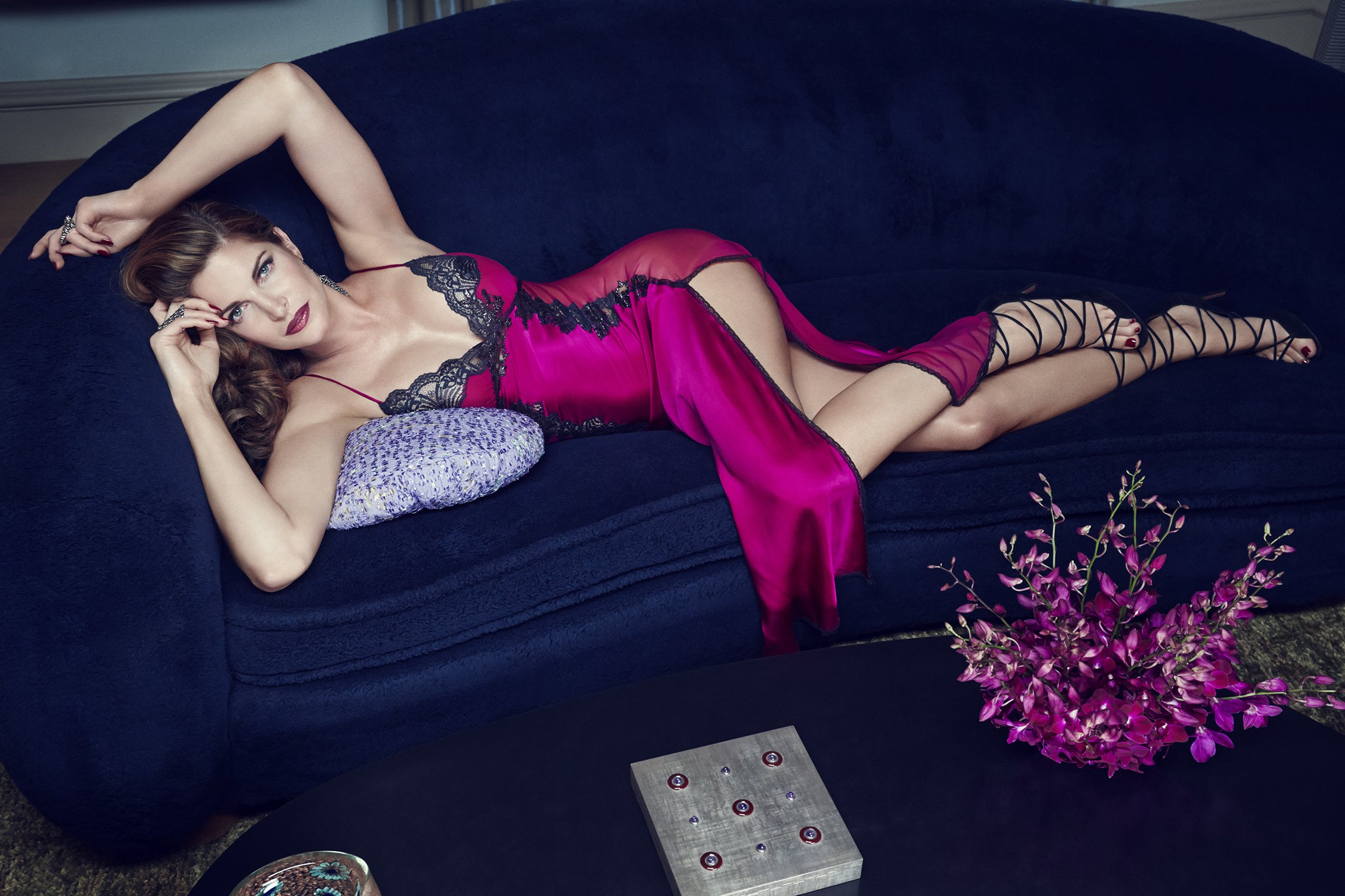 Raven & Sparrow A Luxurious Lingerie by Stephanie Seymour
