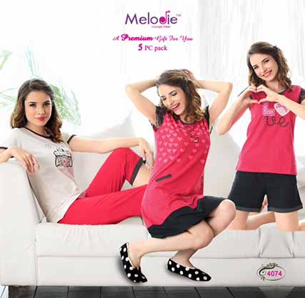 We Absolutely like Melodie's New Sleepwear Collection Launch!