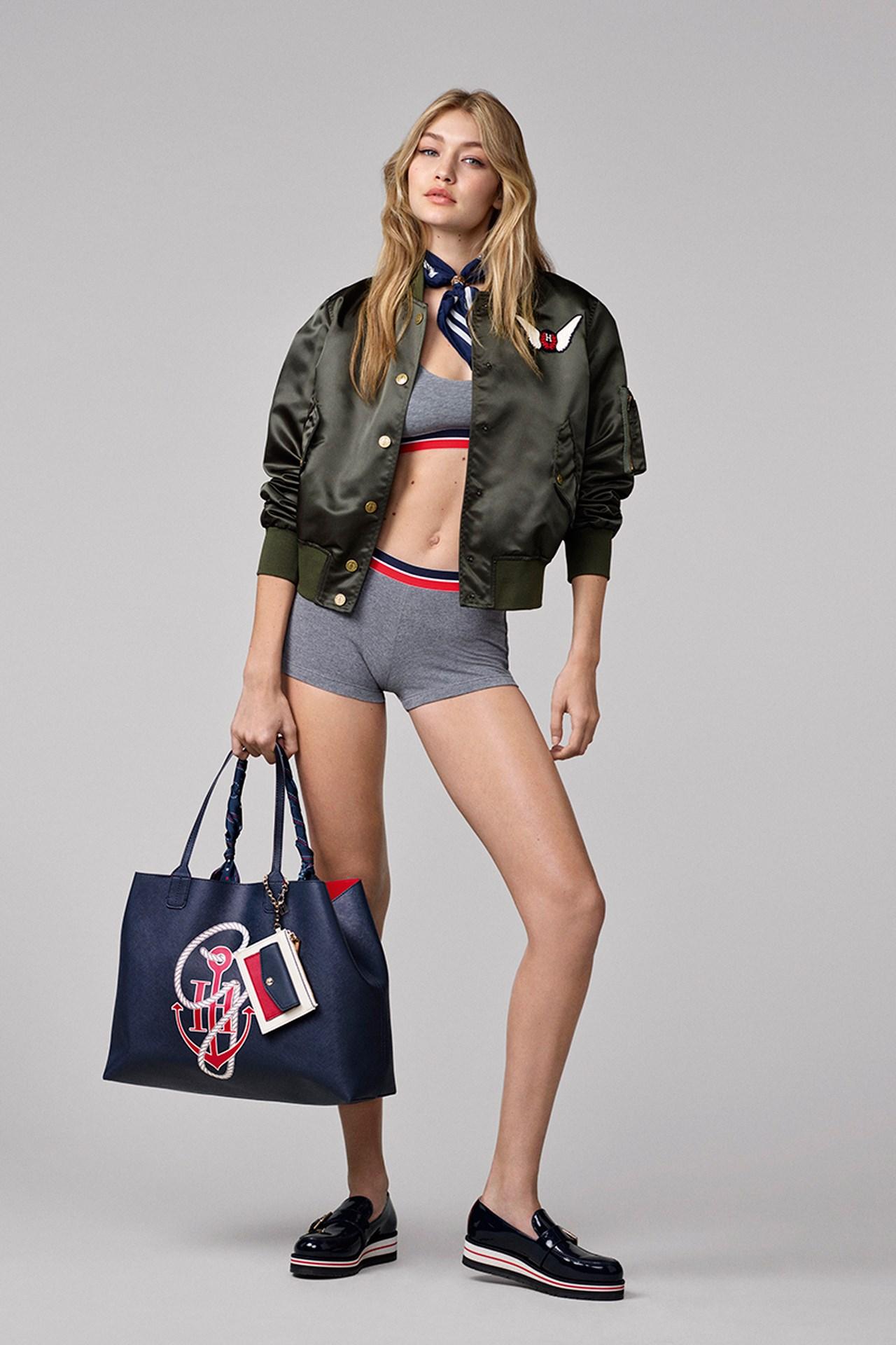 Gigi Hadid Slays Look for Tommy Hilfiger Campaign