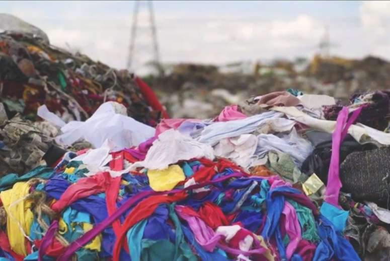 Clothing pollution