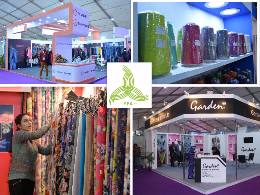 Biggest Yarns, Fabrics & Accessories show in South Asia 'YFA 2016' begins 23rd Nov 16